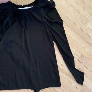BGBG Batwing silky top blouse